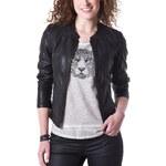 Promod Faux leather short jacket