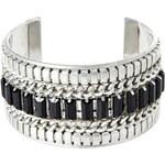 Promod Silvery & black bracelet