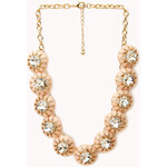 FOREVER21 Fancy Rhinestoned Necklace