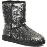 Ugg Australia - Classic Short Sparkles - Stiefeletten & Boots für Damen / silber