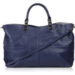 Topshop Oversized Faux Suede Back Tote