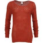 Červený svetr Vero Moda Doris