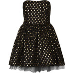 Topshop **Gold Spot Ballerina Dress by Oh My Love