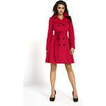 Dámský kabát Kartes KM01P červený
