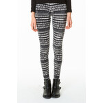 Tally Weijl Monochrome Aztec Print Leggings