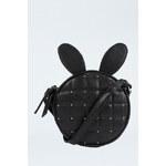 "Tally Weijl Black ""Bunny"" Padded Bag"