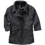 Gap Wool Zip Coat - Navy