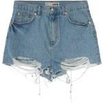 Topshop MOM Jeans Shorts light denim