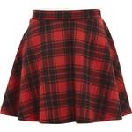 Terranova Checkered skater skirt