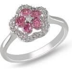 Stříbrný prsten se Zirkony Ag925 Ella