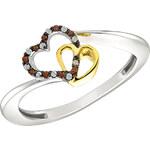 Stříbrný prsten se Zirkony Ag925 Frères et sœurs