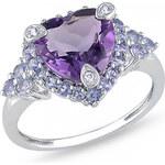 Stříbrný prsten se Zirkony Ag925 Inconditionnel