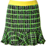 Moschino Cheap and Chic Multi-Color Checked Skirt