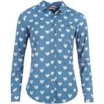 Lee Cooper Cooper Woven Heart Shirt dámský