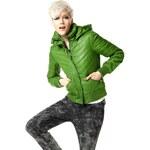 Móda pro mladé, prošívaná bunda Material Girl (vel.36 skladem) 36 zelená Dopravné zdarma!