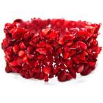 Červený korál Náramek z korálu