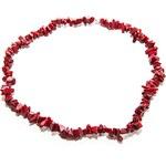 Červený korál Komplet z červeného korálu