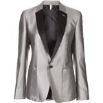 Topshop Modern Tailoring Silver Blazer