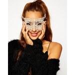 ASOS Pretty Lace Mask - White