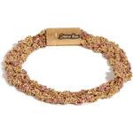 Carolina Bucci Gold/Rose Gold Woven Chain Bracelet
