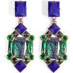 Mouton Collet Marissa Earrings in Emerald