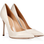 Sergio Rossi Leather Pointed Toe Pumps