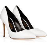 Rupert Sanderson Leather Malory Pointed Toe Pumps