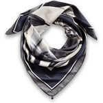 Esprit silk scarf with a large, flower print