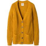 C&A Damen Strickjacke in gelb von Clockhouse
