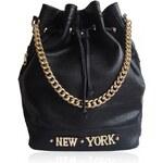 Černá kabelka Anna Smith New York