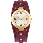 Tom Tailor women's watch with leather strap -