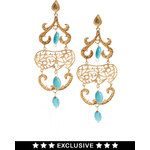 Ottoman Hands Exclusive To ASOS Ornate Chandelier Earrings