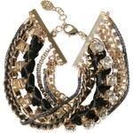 s.Oliver 8-strand bracelet + rhinestones