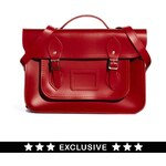 Cambridge Satchel Company Exclusive to ASOS 14 Red Leather Backpack