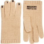 Moschino Cheap & Chic Moschino Cheap And Chic Motif Gloves
