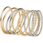 H&M 10-pack rings