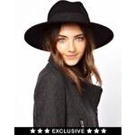 Catarzi Exclusive To ASOS Classic Fedora Hat - Black