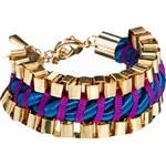 John & Pearl Wide Cord Bracelet
