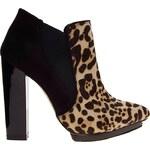 ALDO – Purkhiser – Ankle Boots mit Absatz und Leopardenmuster