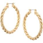 ASOS Oval Plait Hoops Earrings