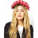Rock 'N Rose Penelope Floral Crown Headband - Pink