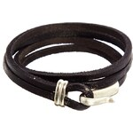 Reclaimed Vintage Fish Hook Wrap Bracelet