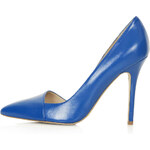Topshop Great Asymmetric Court Shoes