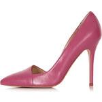 Topshop Great Asymmetric Court Shoes