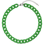 Topshop Chunky Apple Green Chain