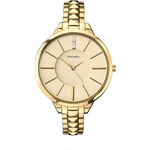 Topshop **Sekonda Editions 2014 Pyramid Gold Bracelet Watch
