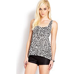 FOREVER21 Wild Thing Leopard Tank