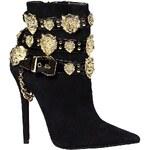 Jeffrey Campbell - Kotníkové boty Rokbar01 - černá, 38