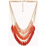 Forever 21 Festive Layered Ombré Necklace