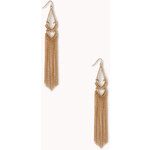 Forever 21 Standout Tassel Earrings